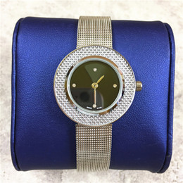 Ladies hand cLocks online shopping - High quality luxury woman watch quartz thin mesh belt rose silver lady clock gifts Accessories luminous hands price drop shipping