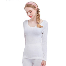 New Arival Long Johns Warm Cotton Thermal Intimo Donna Winter Clothing Set antibatterico senza cuciture in Offerta