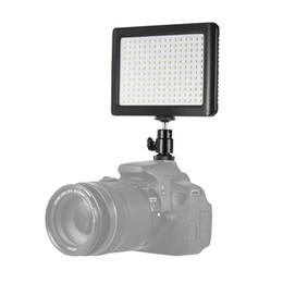 venda por atacado Wansen 12w 192 LED Super Slim 3200k-6000K Estúdio Vídeo Lâmpada Luz de Luz de Luz de Fileira para Canon Nikon Sony Camera DV Camcorder
