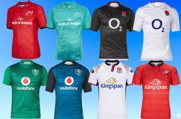 2018/2019 Irlanda IRFU Rugby Munster Jerseys Itália Rugby Camisa tamanho S-3XL Maori Todos Os Pretos Desempenho T Camisa 2018 TONGA RUGBY LEAGUE