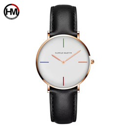 top fashion montre 2019 - Hannah Martin2018 New Exquisite simple style women watches luxury fashion quartz wristwatches Top brand woman clock mont