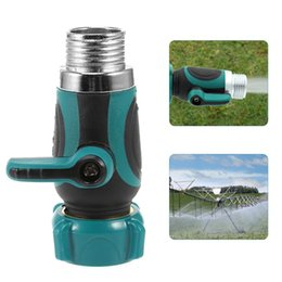 Faucet Connector Hose Australia - 1 Way Hose Faucet Valve Per Shunt Hose Splitters High-Quality Material Crafted Garden Watering Irrigation Connectors Supplies NB