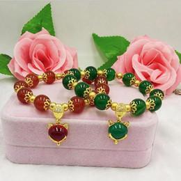 $enCountryForm.capitalKeyWord Australia - New Product Lucky Beads Bracelet Women's Sweet Cute Gold Color Fox Bracelet