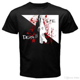 Sasuke Uchiha Shirt Australia - 2018 Latest Funny Men Crew Neck Uchiha death life naruto sasuke movie manga anime japan T-Shirt Black