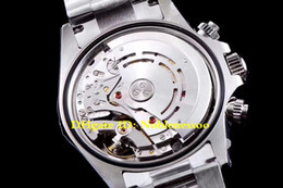 Ingrosso 9 Style CAL.4130 Movimento Top 40mm Cosmograph 116519LN 116520 116500LN 116500 Cronografo Orologio automatico da uomo