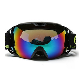 Discount ski goggles anti fog - Ski Goggles Men Women Double Layers Anti-fog UV400 Outdoor Sports Mountain Cycling Eyewear Snowboard Snow Skating Skiing