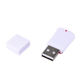 mini sd memory card reader 2020 - High Speed Mini USB 2.0 Micro SD TF T-Flash Memory Card Reader Adapter Smart Memory Card Adapter for laptop accessories
