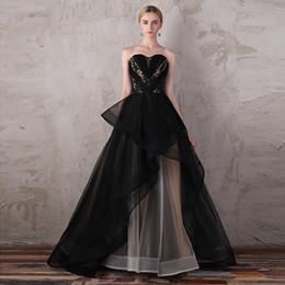 71c8812d5060 Vestido Negro Con Cuentas Vendaje Online   Vestido Negro Con Cuentas ...