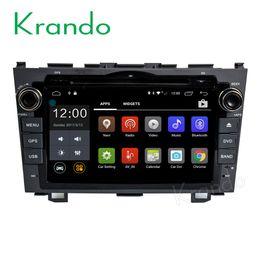 Honda dvd navigation online shopping - Krando quot Android car dvd navigation multimedia system for Honda CRV audio radio gps dvd palyer WIFI G DAB