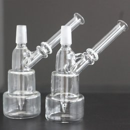 $enCountryForm.capitalKeyWord Australia - Wholesale Unique Hitman 5 Inch Glass Bong Classic Brilliance Cake Dab Rigs Thick Birdcage Recycler Oil Rig Wholesale Water Pipes 14mm joint