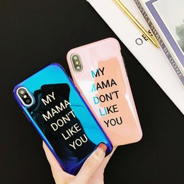 Discount apple handset - Blu-ray Phone Handset shell Case For iphone X Cases Soft Silicone Back Cover For iphone 6 6S 7 8 Plu iphone x