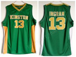 School SportS uniformS online shopping - Kinston High School Brandon Ingram Jersey Men Green Sport Ingram Basketball Jerseys Uniform Wholesales Lowest Price