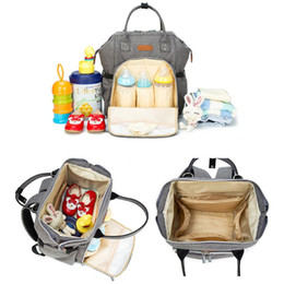 Wholesale Mommy Bags Nappy Backpacks Multi Functional Mother Backpack Diaper Bags Maternity Large Volume Outdoor Travel Tote Bags Organizer