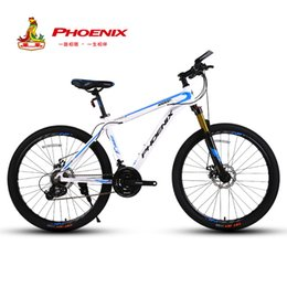 $enCountryForm.capitalKeyWord NZ - wholesale 24 Speed Bicycle Mens Road Bike Aluminum Alloy Frame Cycling Double Disc Drake 26inch Racing Bicycle MTB Mountain Bike