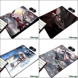 Wholesale video games series online – design Mairuige Hot Popular Video Game Lineage Series Beautiful Pattern Mousepad for Gamer Player Small Size Rubber Anime Mouse Pad