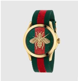 Дешевые унисекс Bee часы для мужчин женщин люксовый бренд нейлон ремешок Кварцевые наручные часы часы мужские женские часы relojes mujer