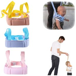 Discount baby harness reins Portable Baby Toddler Walking Assistant Learning Walk Safety Reins Walker Wings Baby Kids Keeper Toddler Walking Safety Harness