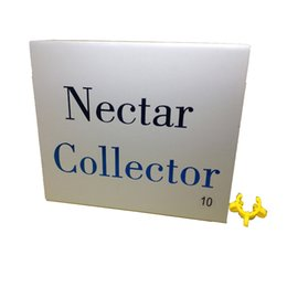 Usa nails online shopping - Nectar Collector kit mm with domeless quartz Nail mm nector collector oil rigs glass pipe water Pipes glass DHL Free to USA
