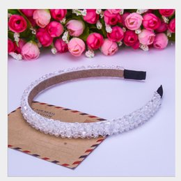 hand made products Australia - OT-60 New product! hand-made seven color crystal headband crystal hoop hair product for free shipping!