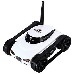 Discount android car control - Happycow RC Tank WiFi Tank Car Toy with Camera Remote Control Video iOS Phone or Android Gift