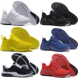 Discount running shoes prestos Prestos 5 Running Shoes Men Women Mesh Triple black yellow white blue red Presto Ultra BR QS Outdoor Casual Sport Traine