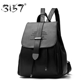 Discount Drawstring Leather Backpacks School | 2018 Drawstring ...