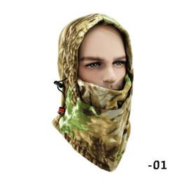 Skull Snowboard Face Mask Australia - winter warm Fleece beanies hats cool skull bandana neck warmer balaclava ski snowboard bicycly face mask Thicken fleece scarf mask