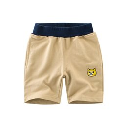 $enCountryForm.capitalKeyWord UK - New Fashion Kids Boys Shorts Pants Summer Children's Casual Sports Half Pants Comfortable Cotton Soft Dog Printed Short Trousers