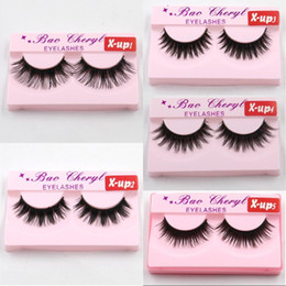 Discount x lashes - Hot X-up 3D Strip Mink Lashes Natural Thick Handmade False Fake Eyelashes Eye Lashes Makeup Extension