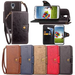 $enCountryForm.capitalKeyWord Australia - PU Leather Flip Fold Wallet Case with ID Credit Card Slot for Samsung Galaxy S3 S4 S5 Mini