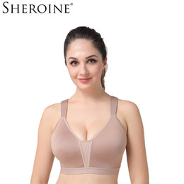 33efcaeb51 SHERONIE Bra Sexy Seamless Wireless Padded Push Up Women Bras Big Size  Intimates Underwear Bralette Brassiere