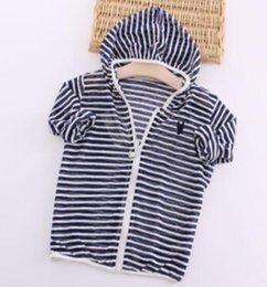 $enCountryForm.capitalKeyWord UK - spring and summer children's clothing for boys and girls striped hooded sun protection clothing children coat zipper shirt