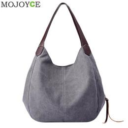 1726f4b3 Red Sling Bags Canada - Vintage Women Canvas Shoulder Bag Hand Bags Ladies  Casual Handbag Totes
