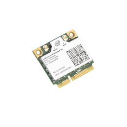 Intel Wireless Pci UK - 150Mbps Wifi Notebook Wlan PCIe Network Adapter For Intel Centrino Wireless-N 100 100BNHMW 802.11b g n 150M Half Mini PCI-E Card