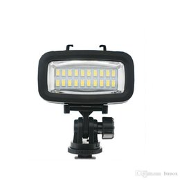 Chinese  Gopro flash 40m underwater led video light waterproof diving lamp super bright accessories for sjcam sports action camera manufacturers