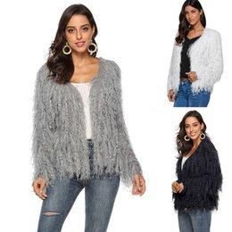 $enCountryForm.capitalKeyWord Australia - Laamei Women's Jacket short Plush Loose Fleece Faux Fur Top women jacket faux fur coats women winter coat