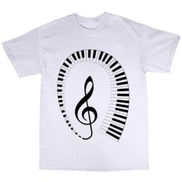 piano gifts Canada - Keyboard Piano Player Pianist T Shirt Wholesale Discount Cotton Gift Present T Shirt 2018 Newest Men's Funny T Shirts For Men's