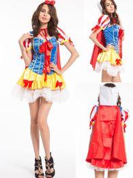 $enCountryForm.capitalKeyWord NZ - free shipping New Style Ladies Princess Snow White Fairy Tale Fancy Dress Halloween Party sexy Costumes