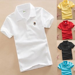 $enCountryForm.capitalKeyWord Australia - Solid Fashion Boys Polo Shirts 3-15 Years Children Polo's Tops Short Sleeve Summer Baby Boy Clothes T-Shirts Cotton Jersey Tees