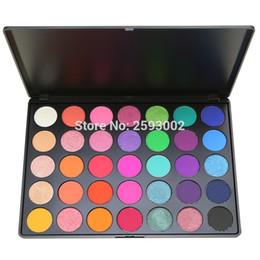 China 35 Color Eyeshadow Palette Gorgeous Silky Powder Professional Nature Makeup Pallete Smoky Warm Matte Shining Eye Shadow 35E# cheap silky eye shadow suppliers