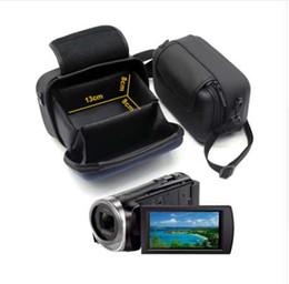 $enCountryForm.capitalKeyWord Australia - Digital Camcorder DV Case Video Camera Bag For SONY XR100E PJ675 PJ410 CX680 CX450 CX405 SR10E SR11E SR12E CX290 Shoulder Bag