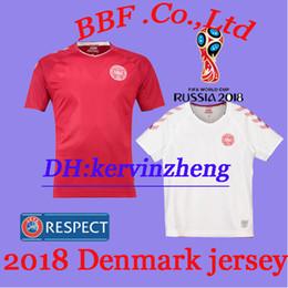 Thailand 2018 Soccer Jersey ERIKSEN JORGENSEN SCHONE special edition Denmark  jerseys camiseta de futbol 2018 World Cup football shirts e94d8f41d
