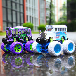 White Toy Jeep Australia - Children's toy car puzzle alloy inertia car Jidajiao cross-country car bus jeep model