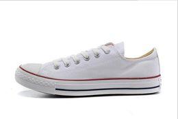 nouveau prix promotionnel d'usine! chaussures de toile femmes et hommes, haute Low Style Classic Canvas Shoes en Solde