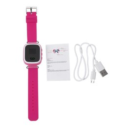 Discount smart watch for lg New GPS Tracker SOS Call Q60 Children Smart watch For Android LG