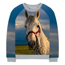 girls horse clothes 2019 - boy jacket baby girl coat Spring Autumn Fashion Children Jackets Coats A light brown horse print Kids Outerwear Clothing