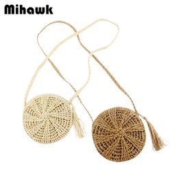 $enCountryForm.capitalKeyWord Australia - Mihawk Barrel-Shaped Straw Rattan Shoulder Handbags Ladies Knitting Hollow Out Pouch Women Beach Zipper Tote Supply Accessories