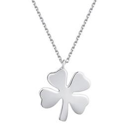 $enCountryForm.capitalKeyWord Canada - Fashion Designer 925 Silver Clover Necklace Jewelry Women Slides Sterling Silver Pendant Necklaces Mens 925 Silver Choker Necklace
