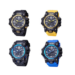 Men Digital Wrist Watches NZ - Relogio Masculino Men Sport Wrist Watch Large Digital Watches Luxury Montre Homme Black Electronic Clock 2018 Hot