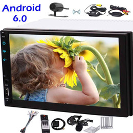 quad audio NZ - Wireless Rear Camera+Universal Android 6.0 no DVD Player in Dash GPS Navigation Car Stereo Quad core Double 2din Vehicles Radio Video Audio